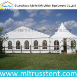 Snowproof PVCキャンバスの結婚披露宴の装飾の玄関ひさしのテント