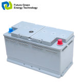 DIN/Jisn55 12V55ah wartungsfreies Leitungskabel-saure Autobatterie