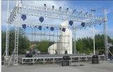 A iluminação de alumínio ao ar livre DJ do evento do concerto do estágio Truss