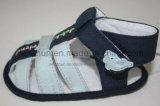海軍および淡いブルーのカラー赤ん坊靴Ws1164