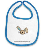 Il disegno personalizzato ha stampato il grembiule della busbana francese del bambino di usura del bambino del Terry del cotone
