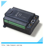 regolatore T-910s del PLC dell'input 0-20mA/0-5V con i contatori di impulso 8ai/12di/8do e 2high-Speed