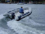 Aqualand 14feet 4.2m Rigid Inflatable Fishing BoatかRib Motor Boat (RIB420A)