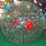 Finego PVC gonflable Grass Ball Body Bubble Ball Soccer Rolling Moonwalker Zorb Ball