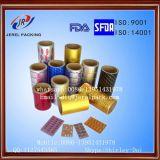Het Jerel Afgedrukte Broodje van de Folie van Ptp Alu/Folie Alu voor de Farmaceutische Verpakking van de Blaar
