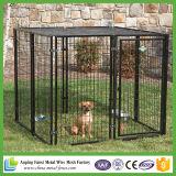 Cerca soldada do cão do fio/grande gaiola portátil ao ar livre do cão
