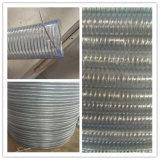 Gewölbter PVC-gewundene Stahldraht-verstärkte Schlauch