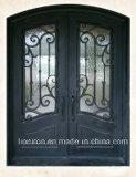 Конструкция входных дверей дверей ковки чугуна строительного материала передняя