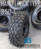 Hand-LKW-Reifen-Laufkatze-Reifen-pneumatisches Gummirad 3.00-4