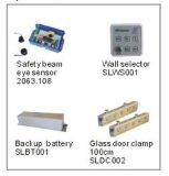 Automatic Sliding Door Opener, Sliding Door Operator, Automatic Sliding Door Aluminum Frame Glass Door Operator, 2X200kgs
