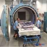 autoclave électrique de composés de chauffage de 2000X8000mm pour la réparation de composé d'avions
