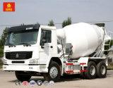 Sinotruk HOWO 9m3 Camión mezclador de concreto para la Planta de Cemento