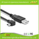 het Laden van de Snelheid USB van 2m Zwarte Snelle Kabel