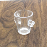 Tazza di vetro Handmade 8oz di disegno creativo di alta qualità per vino
