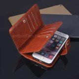 Cas neuf de téléphone mobile de cuir véritable de modèle pour iPhone6/6s/7