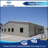 Мастерская пакгауза низкой стоимости Prefab в конструкции стальной структуры