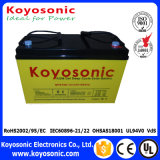 Batterie profonde de gel de cycle de batterie solaire de l'énergie solaire 12V 65ah