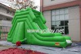 Раздувные зеленые большие сушат скольжение для малышей и взрослых