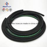 Boyau hydraulique en caoutchouc de tissu-renforcé à haute résistance (SAE100r6)