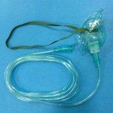 의료 기기 녹색 투명한 다른 가면 크기를 위한 의학 Disposables 제조자 산소 가면