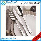西部のホテルのレストランのステンレス鋼の食事用器具類テーブルウェアセット