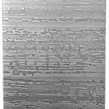 Feuilles gravées en relief de Cloured d'acier inoxydable