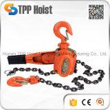 Подъем рукоятки храповика портативной ручной цепи Hsh 1500kg поднимаясь