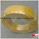 2632の黄色いカラーのバットによって溶接されるPexのAlのPexのガス管
