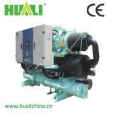 Tipo água do parafuso de refrigeração/refrigerador da bomba calor da fonte