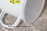 플라스틱 덮개를 가진 고아한 OEM 장식 사기질 찻잔 또는 컵