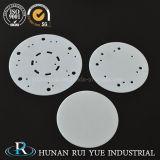 substrato sottile di ceramica dell'allumina a temperatura elevata 99% di resistenza Al2O3 di 95%