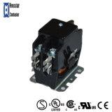 AC接触器24VのコイルULの公認の二相高品質の電気接触器2p 25A