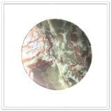 Меламина печатание логоса высокого качества плита дешевого изготовленный на заказ круглая