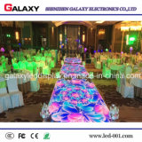 Pantalla de visualización impermeable portable de suelo de Dance Floor /Interactive LED del pixel de los acontecimientos LED del LED P6.25/P8.928