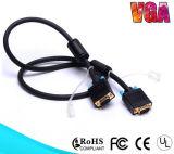 Le VGA de la qualité 15pin au câble du VGA pour l'ordinateur de moniteur