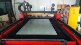 Terminar a máquina de estaca do plasma do CNC da coleção de poeira