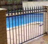 高品質のやりが付いている庭のために機密保護の鋼鉄に囲うこと