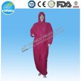 Impermeable Overoles Ropa de Protección PP PE plástico disponible Monos