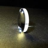 黒いペンキレンズの光学レンズが付いている端