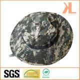 Лето напечатало шлемы ведра камуфлирования рыболова/армии прованские с сетью