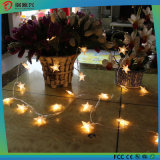 より安いクリスマスの卸売きらめくランプのクリスマスの装飾ライト