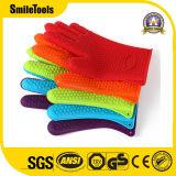 ТеплостойкmNs силикон варя перчатку для жечь, BBQ печи перчаток, кухню