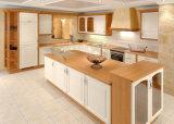 Ontwerp van het Meubilair van de keuken het Moderne Eenvoudige met de Tegen Hoogste Stevige Houten Keukenkast van de Keuken