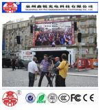 P8 Outdoor Electronic LED Publicidade Screen para Publicidade Comercial Alta Definição