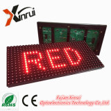 P10 sondern Baugruppen-Bildschirm der Farben-LED für rote Text-Bildschirmanzeige aus