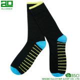 Bunte Unisexgroßhandelsbaumwollmannschafts-Socken