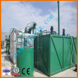 Huile usée par système de distillation sous vide de raffineries de pétrole de rebut réutilisant la machine