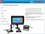 Android система монитора навигации GPS для тележки