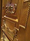 Porte en bois intérieure commerciale de type européen