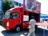 트럭을 광고하는 Sino 트럭 LED